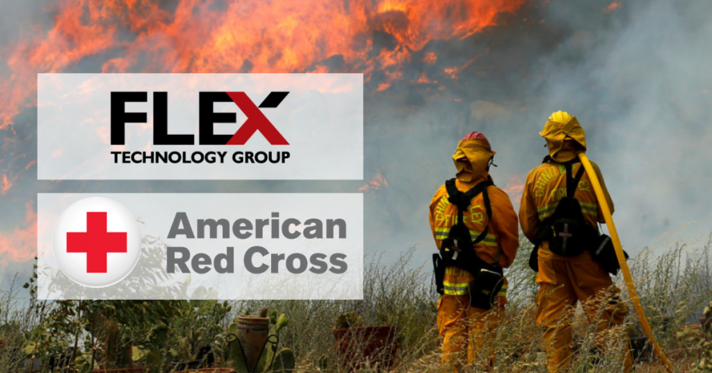FTG Team Raises over $10,000 for the American Red Cross and the CA Wildfire Relief Fund