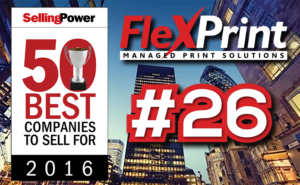 FlexPrint--2016-Selling-Power-50-Best-Companies-To-Sell-For